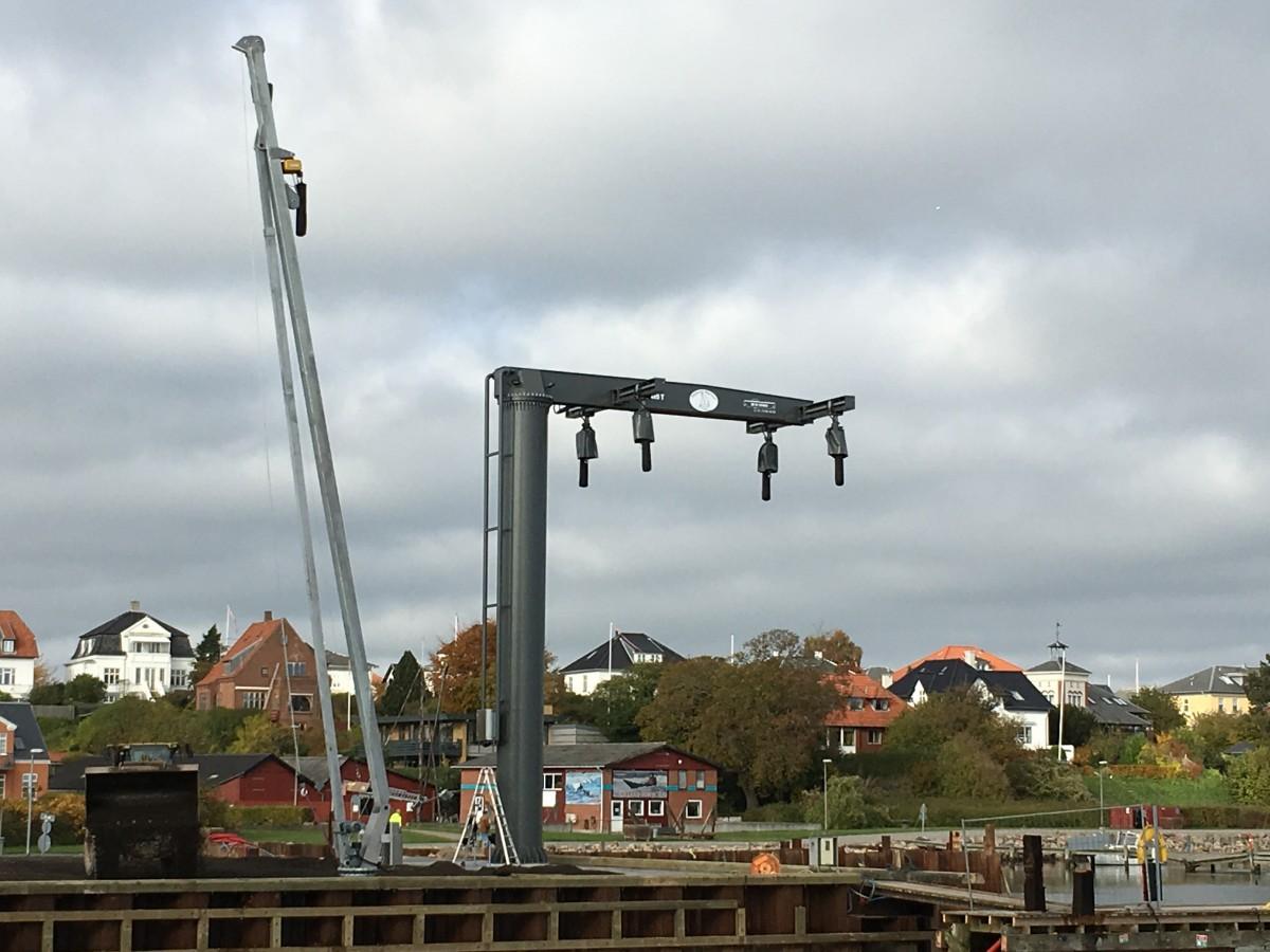 DK Cranes havnekran