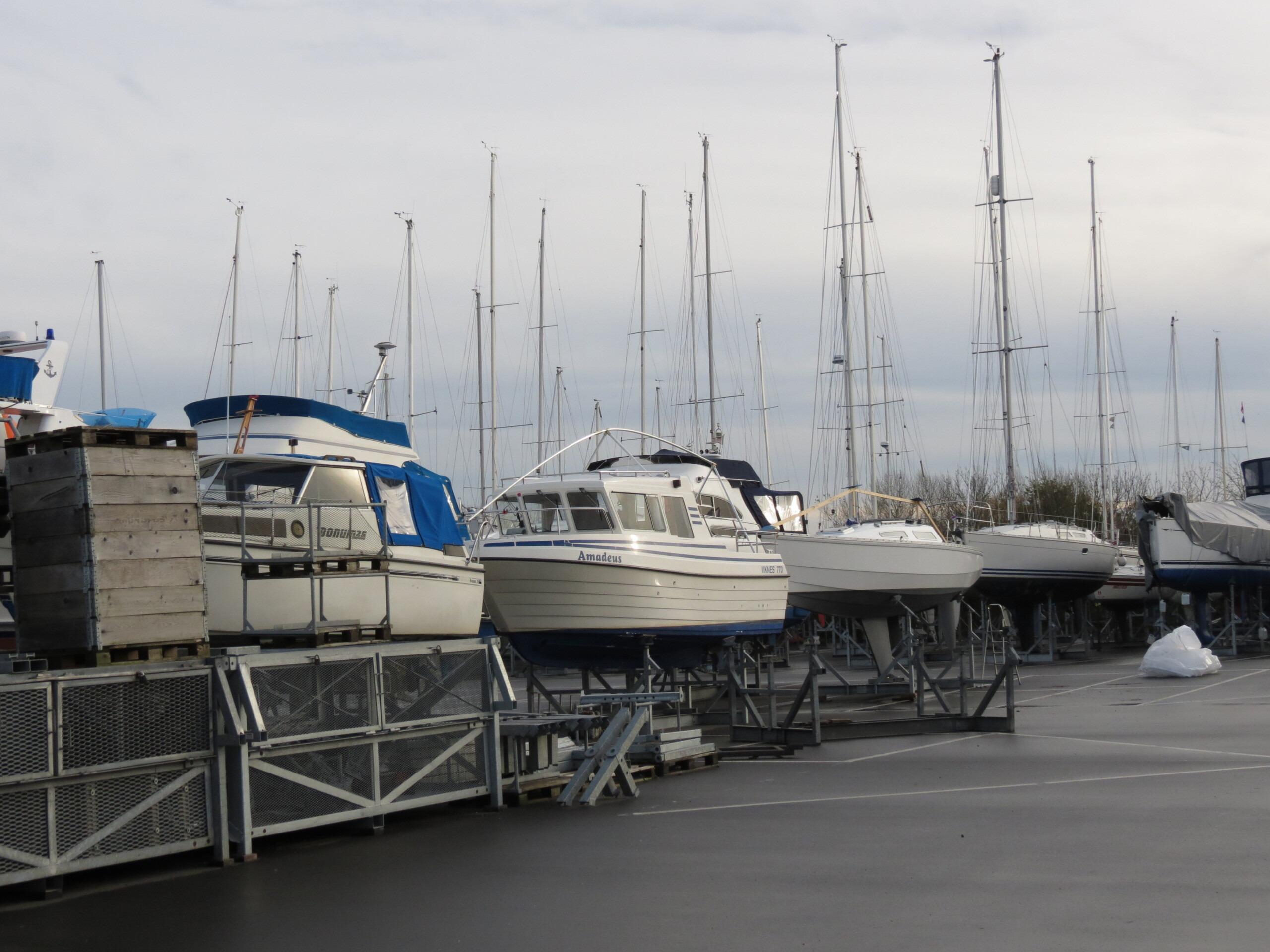 Vintersikkerhed i havnen